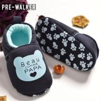 Sepatu Baby Pre Walker Beau Papa Navy LKS382 - 11