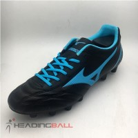 Sepatu Bola Mizuno Original Monarcida Neo Select Black Blue P1GA192525