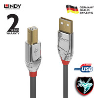 LINDY #36643 Cromo USB 2.0 Type A to B Cable, 3m