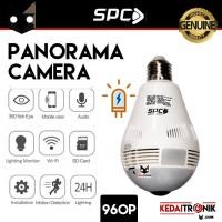 IP Cam SPC Bohlam Wifi Panorama Camera Spy Cam KST-5 Panoramic 360 LED