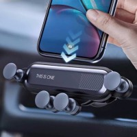 Gravity Car Holder For Phone Air Vent Clip Mount Car Holder Mobil