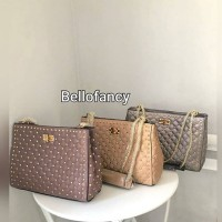 Tas Luxury Shoulder Studded Premium