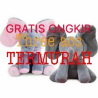 TOYS Boneka import gajah atau Elephant PEEK A BOO MAINAN ANAK KADO - PINK