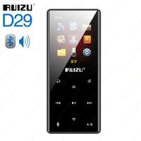 RUIZU D29 MP3 MP4 Player Memori 8G Bluetooth 4.2 Voice Recorded