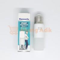 Hannochs POP 3w Lampu Bohlam LED 3 watt w Daylight Putih White Stick