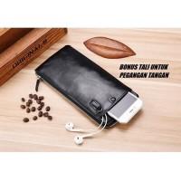 Dompet Panjang Kulit Import Deabolar dengan Tali dan Slot HP - DBL01