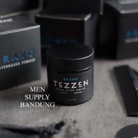 Pomade Tezzen Bravo Waterbased FREE POUCH dan SISIR TEZZEN