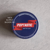 Barberpop Poptastic Matte Clay 3.5 oz (100 gr) FREE SISIR