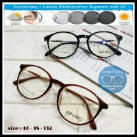 frame kacamata wanita fw 506 + lensa photocromic rubah warna
