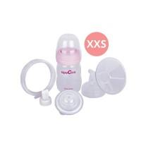 Breast Shield (Corong) Set 16mm Size XXS + PP Bottle