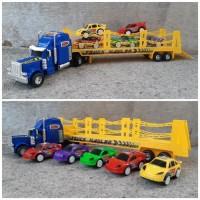 Mainan 1 Set Truck Hauler Angkut - Trailer Muatan Mobil Anak Edukatif