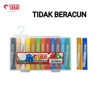 GROSIR Crayon TITI 12 Warna/Krayon Murah TITI 12Warna/Oil Pastels TITI