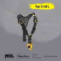 Top Croll L Petzl Chest harness for seat harness