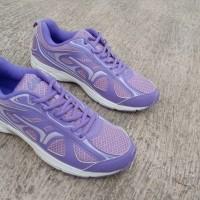 RUNNING SHOES ! SEPATU LARI CALCI NEW YORK UNGU ORIGINAL MURAH