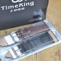 Strap Tali Jam tangan kulit Original Time king size 30mm