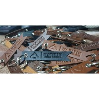 Gantungan Kunci Kulit Premium Leather Keychain Maritim-Small