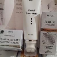 Ertos paket 3 macam Facial treatment - SK kinclong - Night cream asli