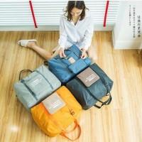Foldable Travel Bag / Folding Travel Bag / Tas Travel Lipat