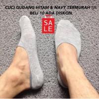 Kaos kaki bamboo / Hidden socks / Kaos kaki unisex - Putih