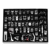 Terlaris 52Pcs Mesin Jahit Snap Presser Foot Set Kit Multifungsi