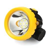 Terlaris 1W 3500L Miner Head Cordless Torch Lamp Lampu LED Helm