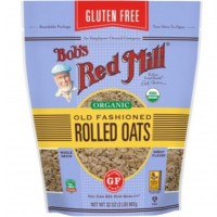 Bob s Red Mill Gluten Free Organic Old Fashioned Rolled Oats 907g