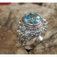 Gagang cincin perak motif rangda acc collection