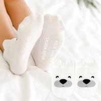 Kaos kaki anak 2-4 tahun warna putih imut