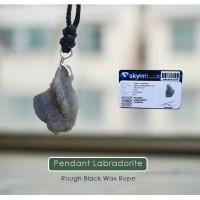 Kalung liontin Labradorite Stone Premium (LBP13)