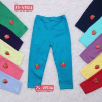 Legging Strawberry uk. Bayi 3-12 month / Celana Panjang Baby Leging