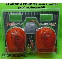 KLAKSON ECHO 22 SUARA WATER PROOF MOTOR/MOBIL - RED