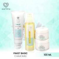 Evershine Paket Basic Chamomile skincare kulit berjerawat