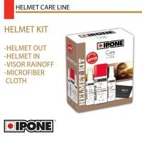 IPONE Helmet Kit - Pembersih Pengkilap Perawatan Helm