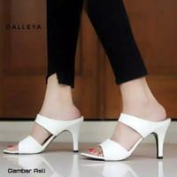 VIRGOUN - real pict sepatu high heels casual wanita cantik