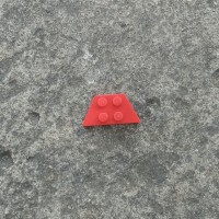 LEGO Parts, Red Wedge Plate 2x4