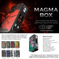 FAMOVAPE MAGMA 200W TC BOX MOD AUTHENTIC FOR VAPORIZER VAPE