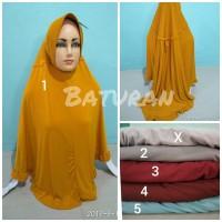 Jilbab Instan Ayra Serut Super Jumbo Bigsize