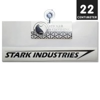 Stiker Stark Industries Logo Cutting Sticker Mobil Motor