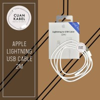 Kabel Charger Iphone 2M Original - Apple Lightning To USB Cable