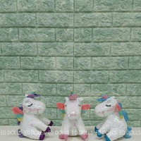 BONEKA KUDA PONI UNICORN PONY SEQUIN