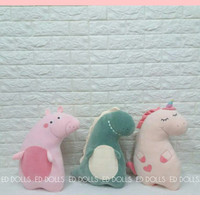 BONEKA KUDA PONI UNICORN PONY SOFT UP