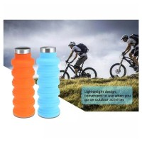Silicone Bottle Portable - Botol Air Minum Lipat Silikon