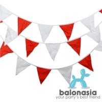 Bunting Flag HUT RI / Bendera Merah Putih Dirgahayu RI / Umbul Umbul