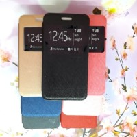 Case Samsung Galaxy J1 2016 J120 Flip Cover Leather