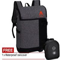Tas Pria Tas Wanita KM120 Tas Ransel Tas Backpack Tas Laptop - Grey