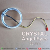 Ring LED Crystal Halos - Crystal Angel Eyes 80 mm