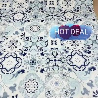 Grosir Termurah Wallpaper Sticker Dinding Batik Turki modern 10 M