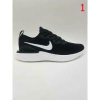 Sepatu Sneaker Cowok Nike Epic React 2 White Blue Pink Made in Vietnam