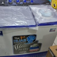 mesin cuci 2 tabung AQUA JAPAN 8'5 Kg