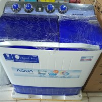 mesin cuci 2 tabung AQUA JAPAN 10,5 Kg